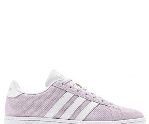 adidas CORE Women Grand Court Sneaker Schuh EE7476 – 40 | mauve/ftwwht/lgrani