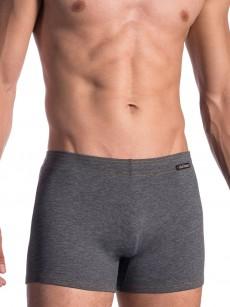 graue Badepant mit längerem Beinansatz