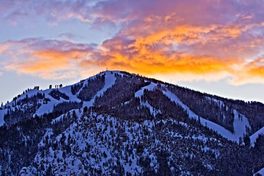 Mark Epstein Photo | Baldy Sunset