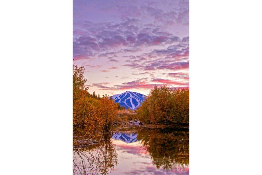 Mark Epstein Photo   Sunset on the Valley