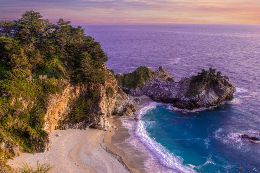 Mark Epstein Photo | Sunset On McWay Falls
