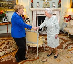 Merkel and the Queen