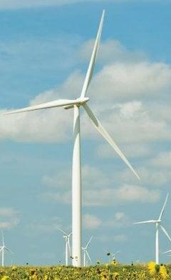 Wind energy reduces energy bills