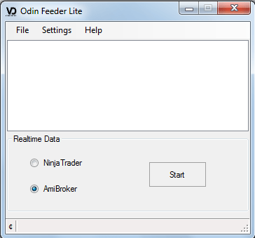 Odin Feeder – Realtime Datafeed from Odin Diet to Amibroker