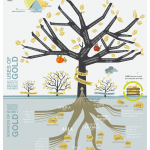 The Gold Tree : Infographic