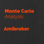 Monte Carlo Analysis using Amibroker