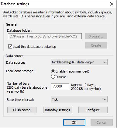 NimbleDatapro 2 – Tick by Tick data Connection Setup Guide