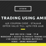 [STA2018] Systematic Trading using Amibroker  – Online Workshop