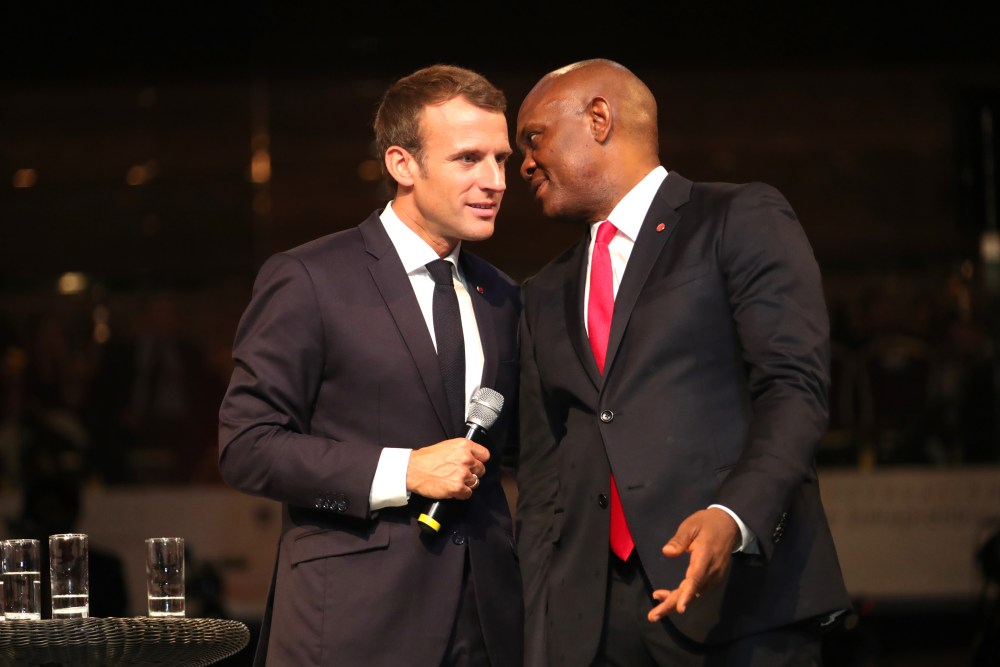 president-macron-at-tef-interactive-session-2