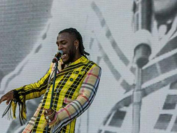 Burna Boy delivers a colorful performance at Coachella 2019