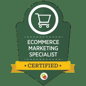 Digital Marketer Ecommerce Marketing Specialist Certification