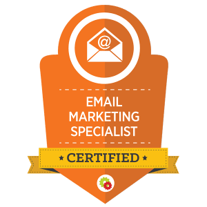 Digital Marketer Email Marketing Specialist Certification
