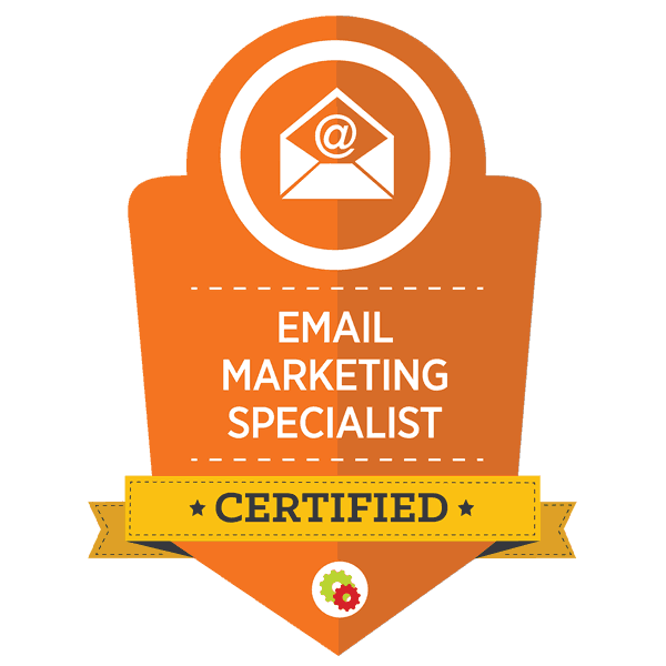 Digital Marketer Certified Email Marketing Specialist