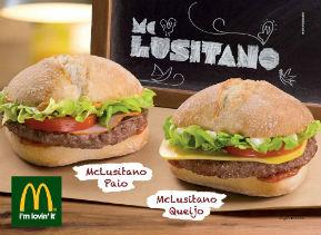 McDonald's aposta em sabores lusitanos