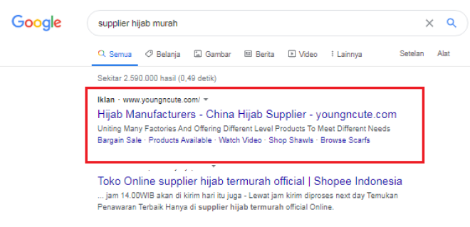cara Kerja Google Ads bagi pengiklan