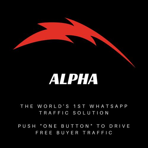Alpha, WhatsApp Traffic Solution