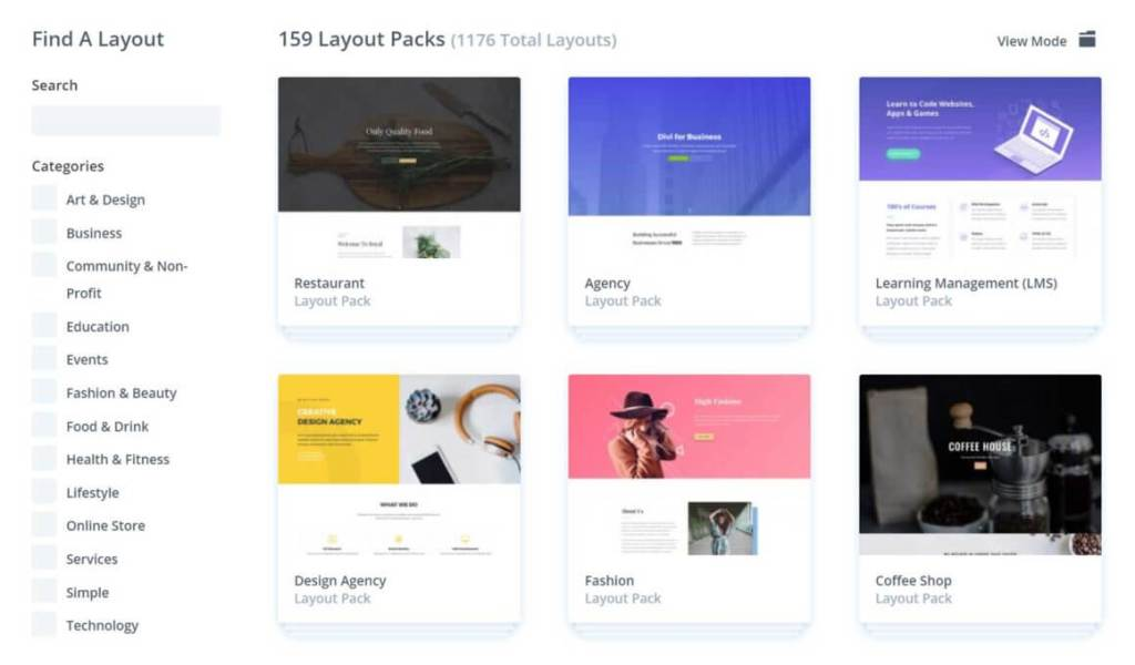 Divi-Layout-Library