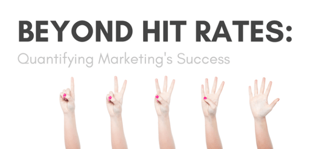 Beyond Hit Rates: Quantifying Marketing's Success