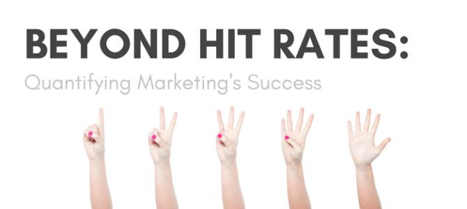 Beyond Hit Rates: Quantifying Marketing's Success