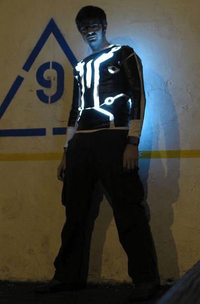 2018 Tron Suit
