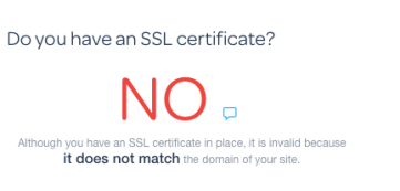 figure out if you have an SSL