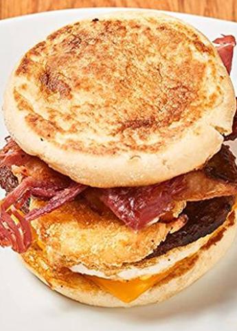 Quad Breakfast Sandwich