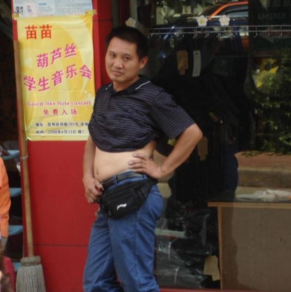 le ventre des chinois
