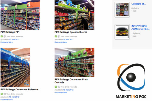 Capture FlickR Marketing PGC