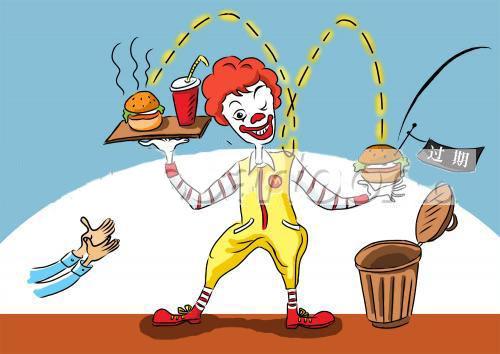 McDonald's China caricature