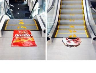 L'escalator : magnifique outil d'ambient marketing