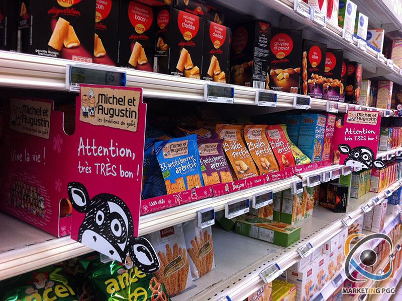 Les produits Michel et augustin sont désormais présent en ultra-frais, épicerie sucrée et salée