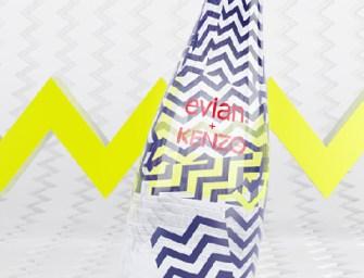 Signée Kenzo, la bouteille Evian 2015 enfin dévoilée!