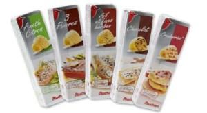 Le beurre aux pépites de chocolat Auchan est sorti en décembre 2014. PVC :  1,10 € les 100 g.