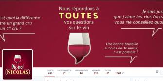 @DismoiNicolas, la 1ère hotline du vin, débarque sur Twitter