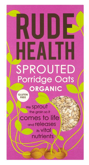 Rude Health - Sprouted Porridge Oats Organic