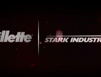 Gillette en partenariat avec Stark Industries