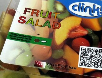 Une étiquette intelligente qui indique l'altération des aliments