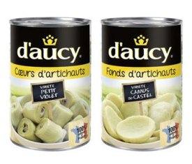 En avril dernier, d'aucy lançait deux nouvelles références, avec des artichauts cultivés dans le Finistère.