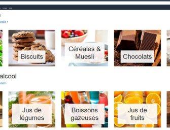 Testé pour vous : le site de la nouvelle boutique épicerie d'Amazon France