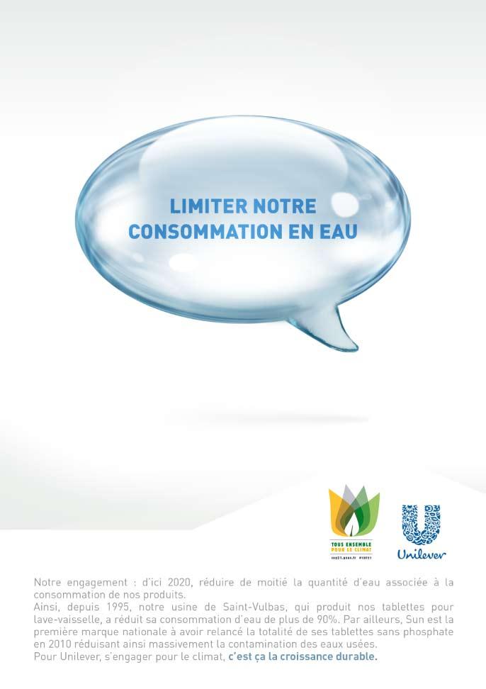 Unilever Eau COP 21