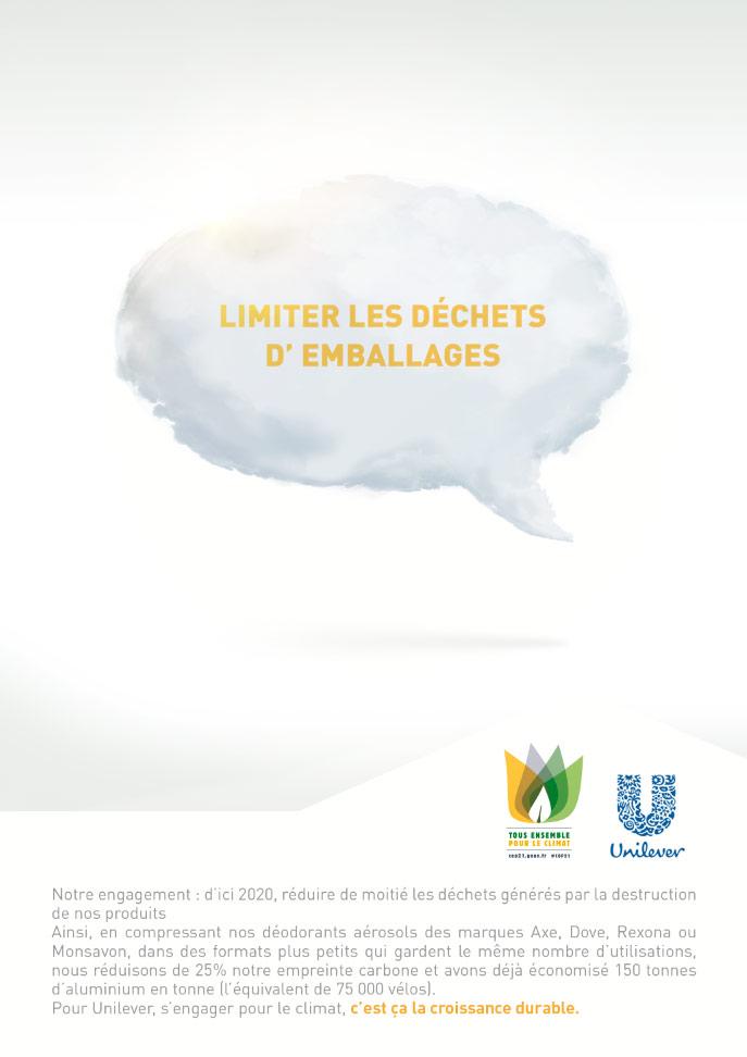 Unilever Gaz COP21