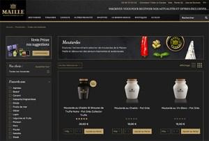 Maille a converti son site institutionnel en e-commerçant, dopant sa fréquentation de 20 000 à 75 000 visiteurs mensuels.