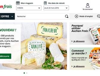 Un drive de produits frais traditionnels signé Auchan