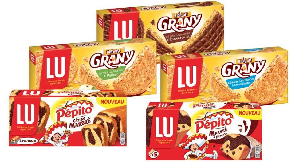 En 2016, Grany s'émancipe des barres de céréales et se décline sur les biscuits. Pépito lance, lui, deux nouveaux gâteaux moelleux.