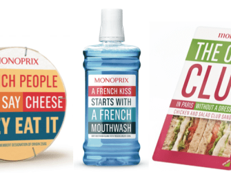 Monoprix joue les attrape-touristes « in English »