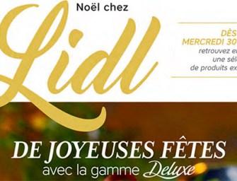 Lidl lance son catalogue Deluxe pour la fin d'année