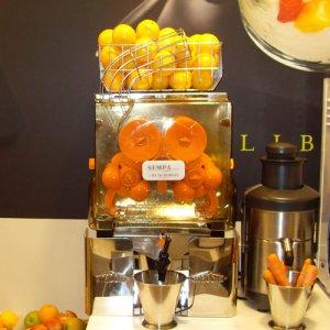Franprix a fait équiper 420 points de vente de son concept Mandarine avec des presses agrumes automatiques.