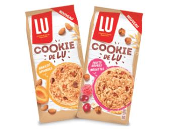 Cookies aux fruits, la nouvelle offre de Lu