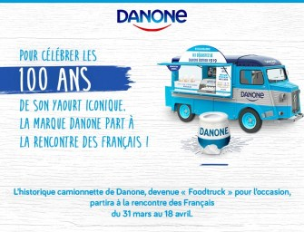 Danone part à la rencontre des français pour les 100 ans de son yaourt