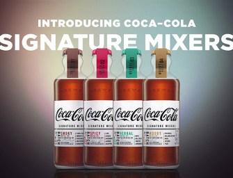 Signature Mixers, la gamme pour alcools de Coca-Cola